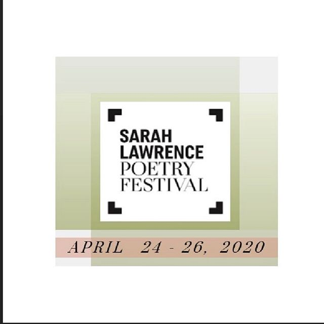 ANNOUNCING THE DATES OF OUR 2020  FESTIVAL! Join us April 24-26 for a weekend of celebrating contemporary poetry! #slcpoetryfest