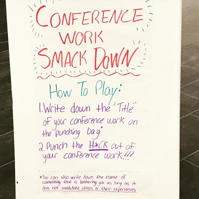"""Conference season"" at the Barb. #thatssosarahlawrence #sarahlawrencecollege #barbarawalterscampuscenter"