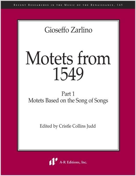 Gioseffo Zarlino, Canticum canticorum Salomonis