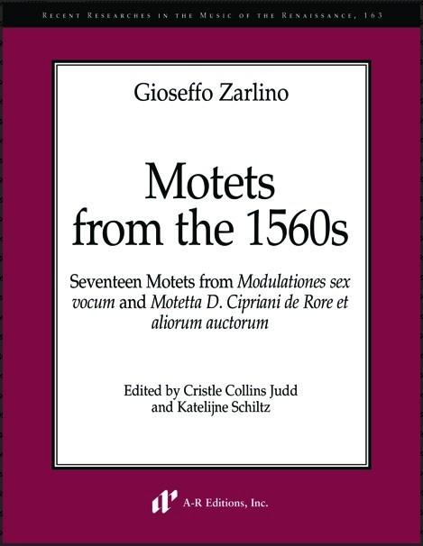 Gioseffo Zarlino, Motets from the 1560s