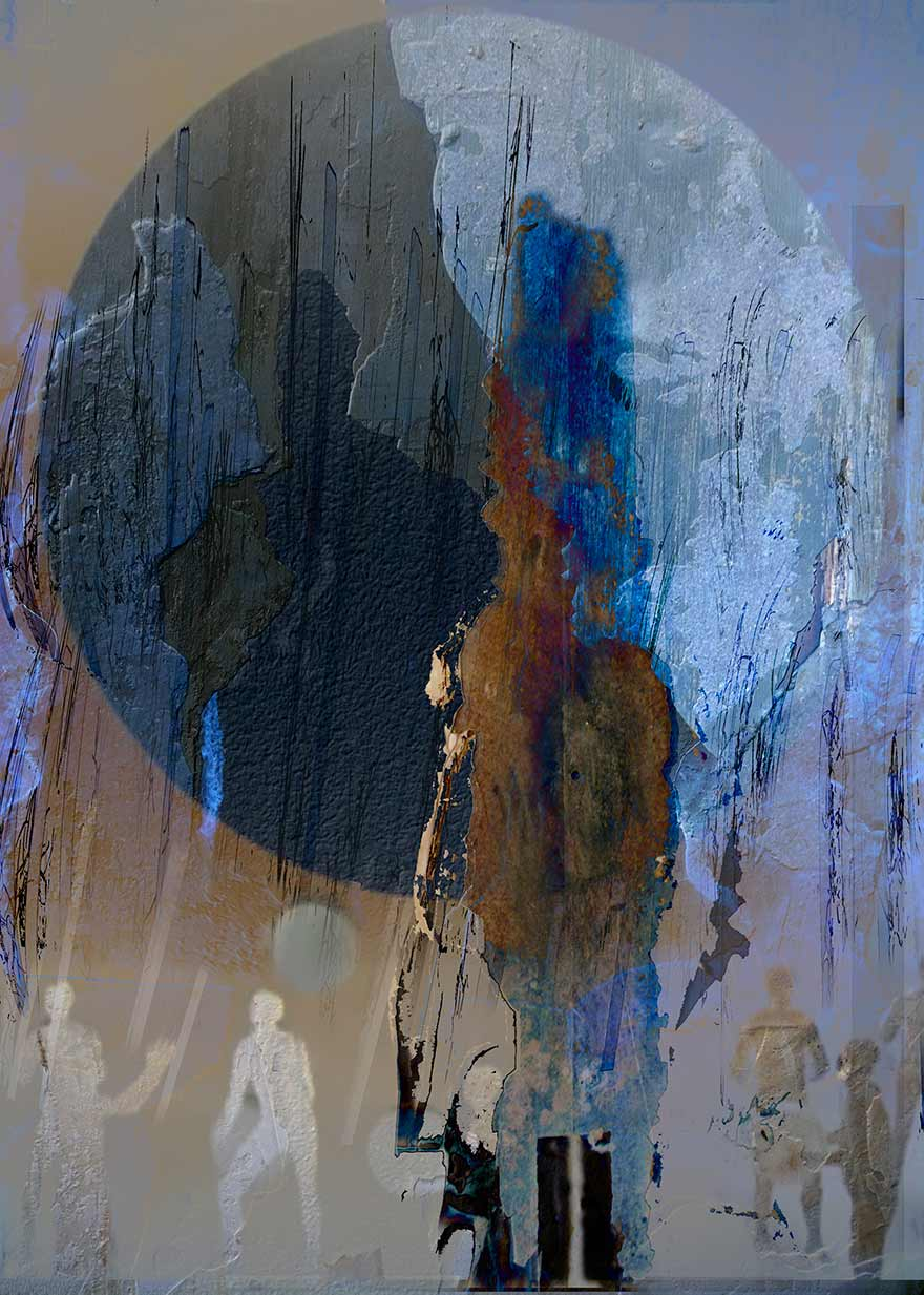 Digital print, Plato's Cave