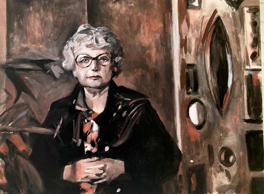 Portrait of Rose Berlin