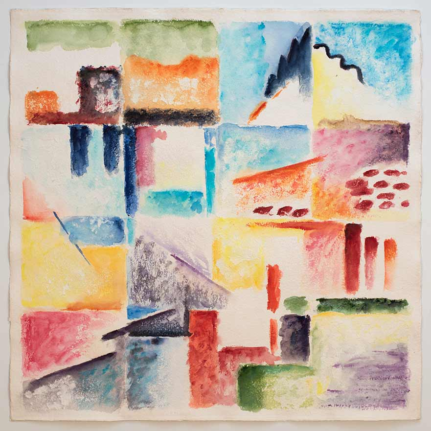 Watercolor, Esquinas Cusco 2