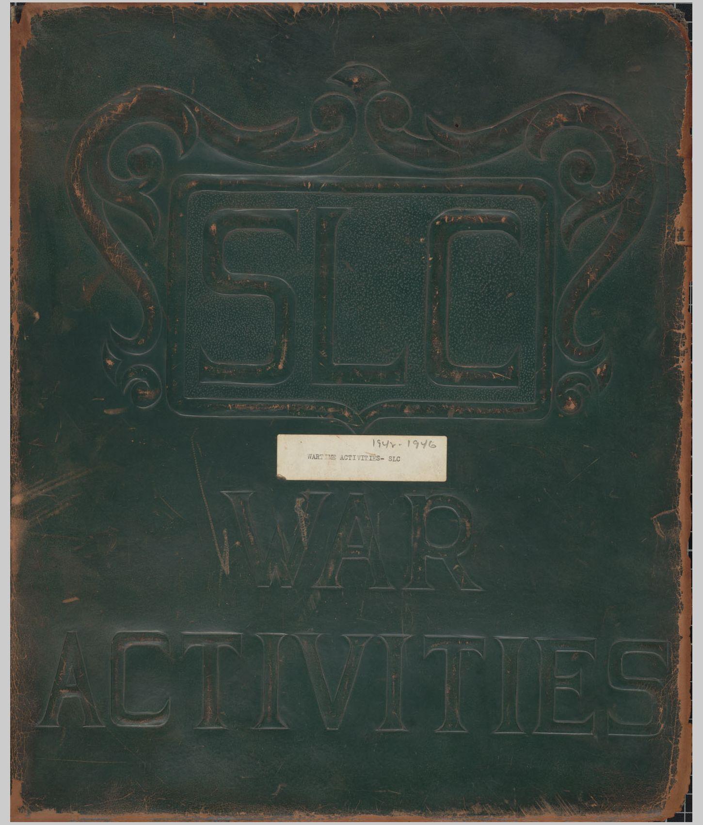 Student War Board Scrapbook, 1942-1946