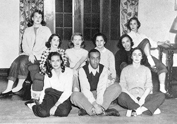 NAACP Student Chapter, 1949. Photographer Unknown (Sarah Lawrence Archives)
