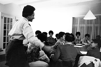 Black Students Association, n.d. Photographer Unknown. (Sarah Lawrence College Archives)