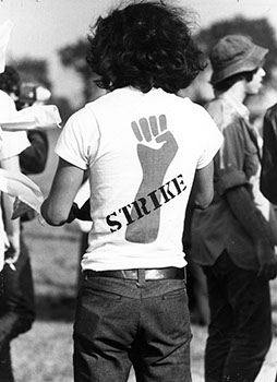 National Student Strike, 1970. (Sarah Lawrence College Archives)