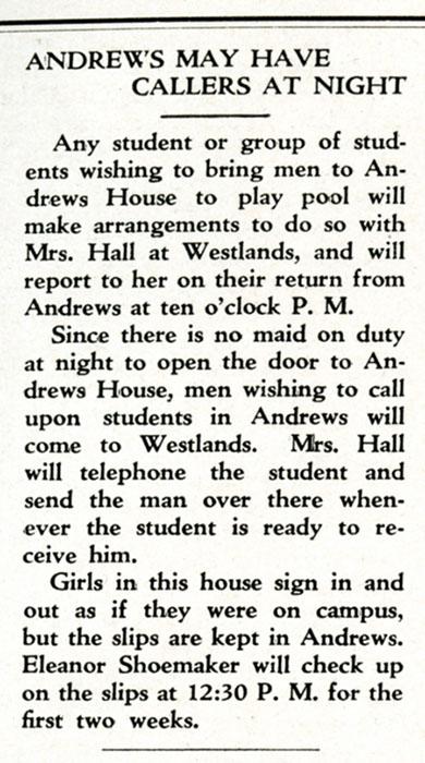The Campus, October 7, 1935.