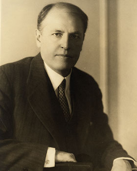 Henry Noble MacCracken, Chairman of the Board of Trustees, 1926-1936. Photographer Unknown.