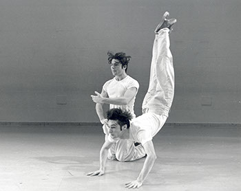 Tony Schultz '98 and Christopher Williams '98, n.d. Photographer Unknown.