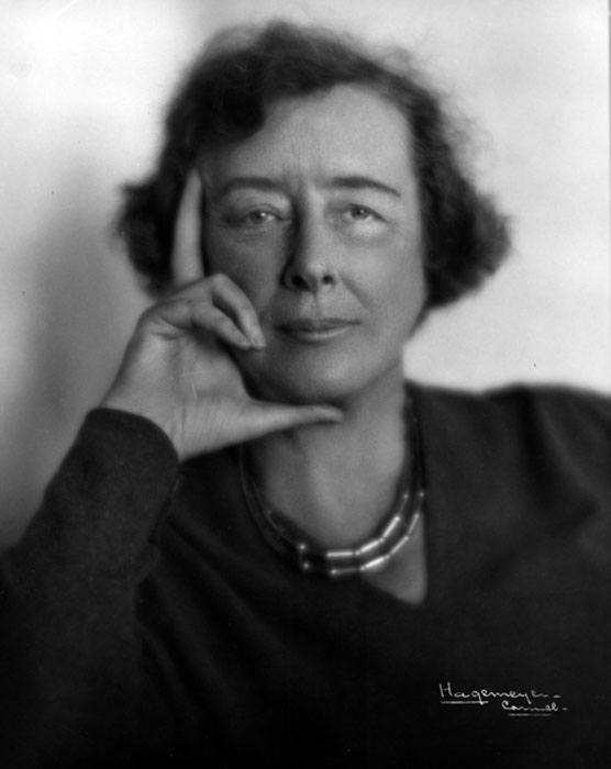 Constance Warren, President of Sarah Lawrence College, 1929-1945. Photograph by Johan Hagemeyer, Camera Portraits, Carmel California. Courtesy of the Sarah Lawrence College Archives.