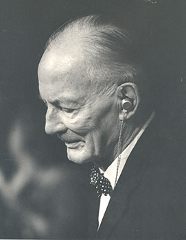Harrison Tweed, member of the Board of Trustees (1940-1954, 1960-1965), Chairman of the Board (1946-1954), Honorary Trustee (1965-1969), and Acting President of the College (1959-1960)