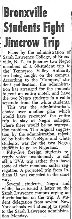 The Daily Worker, November 19, 1951.