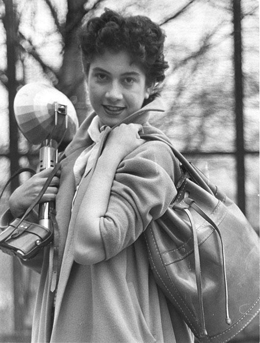 Sue Greenburg, photographer unknown.