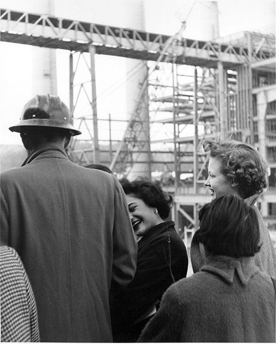 Kingston Steam Plant, 1955. Photographer unknown.