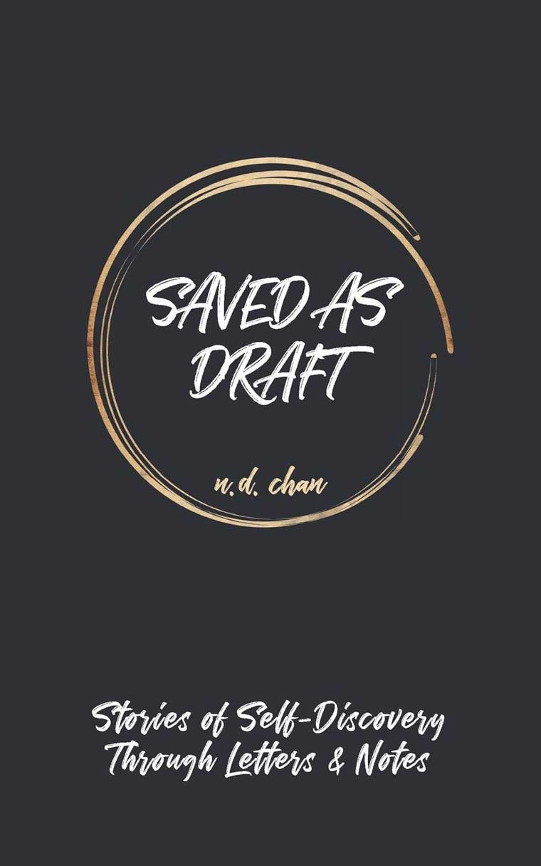 Saved as Draft: Stories of Self-Discovery Through Letters & Notes book cover image