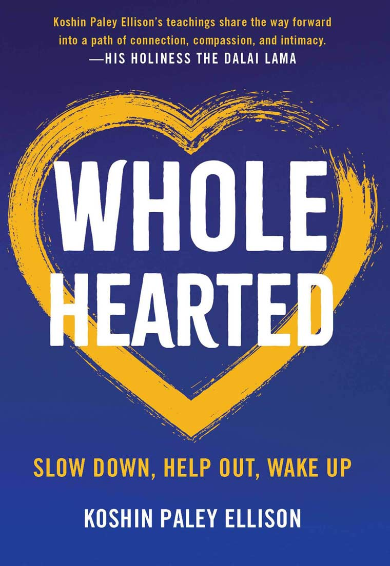 Wholehearted: Slow Down, Help Out, Wake Up book cover image