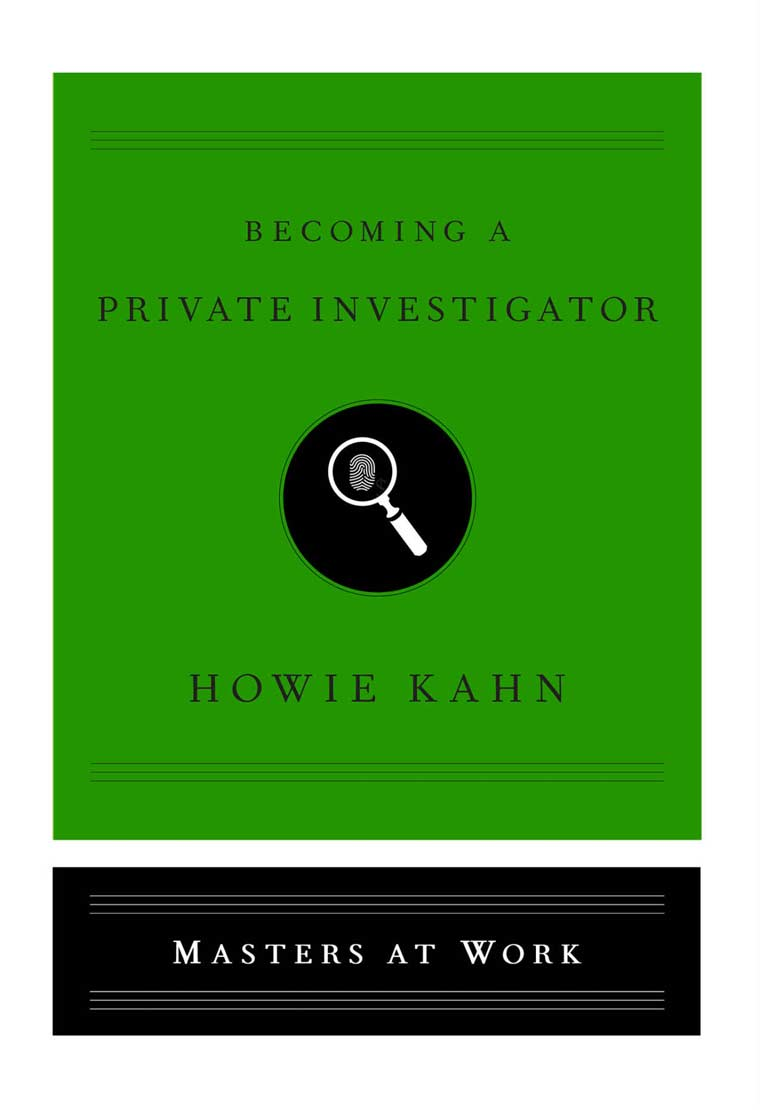 Becoming a Private Investigator book cover image