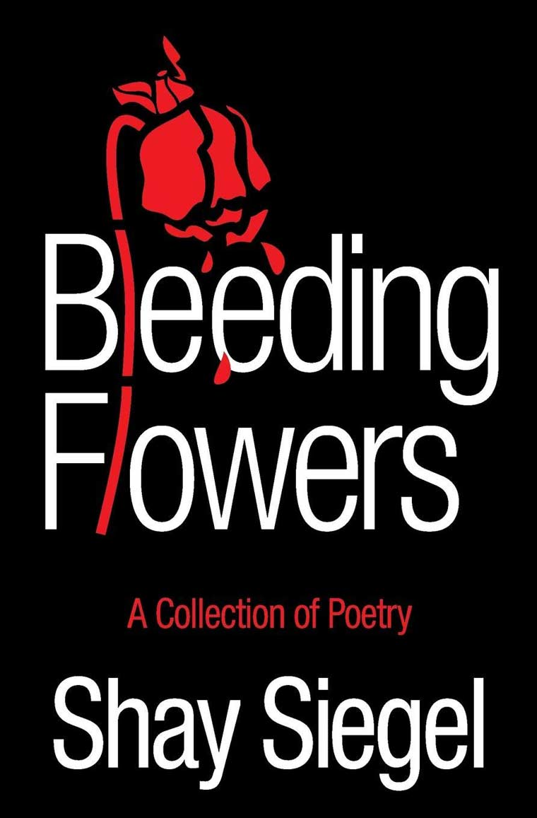 Bleeding Flowers: A Collection of Poetry book cover image