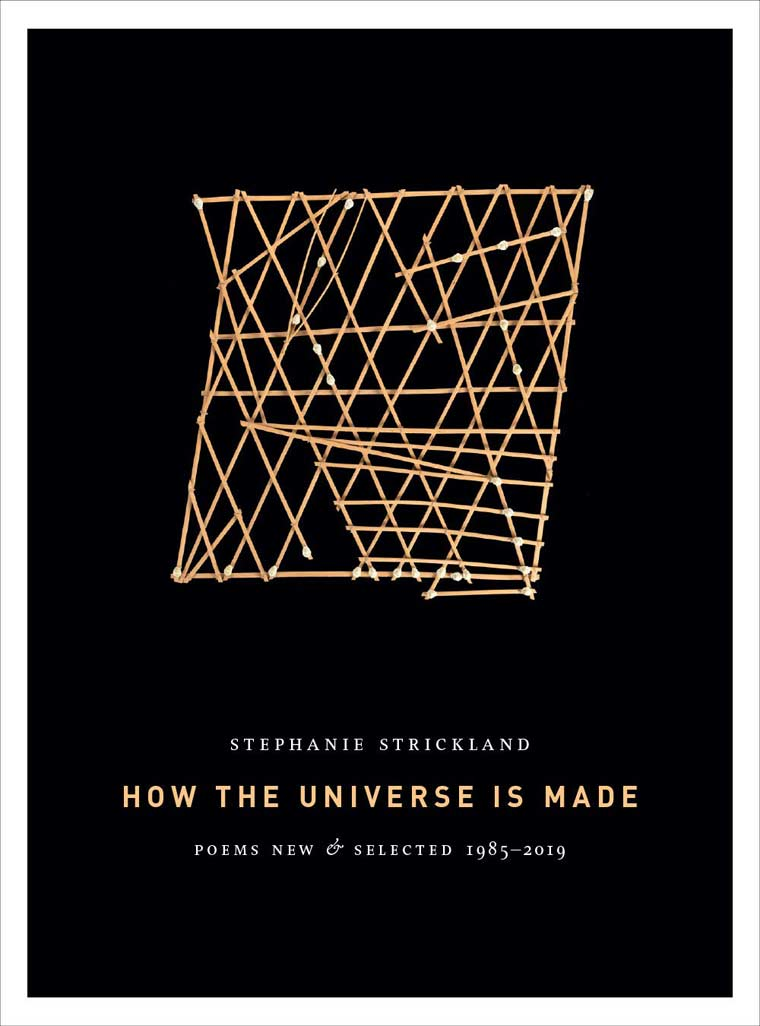 How the Universe Is Made: Poems New & Selected 1985-2019 book cover image