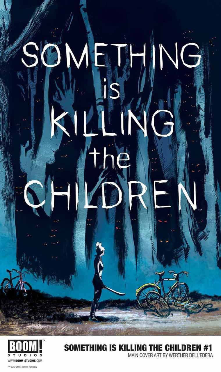 Something Is Killing the Children book cover image