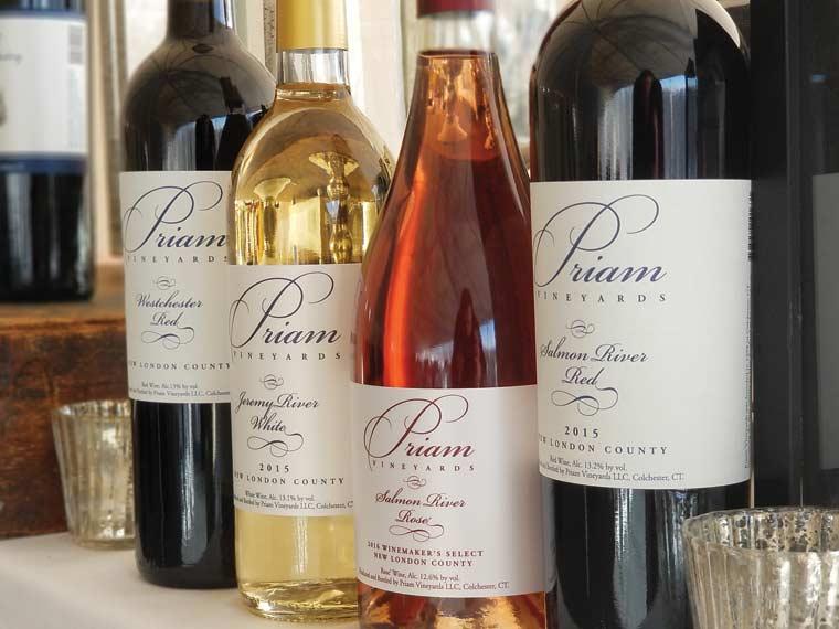 Photo of bottles of wine