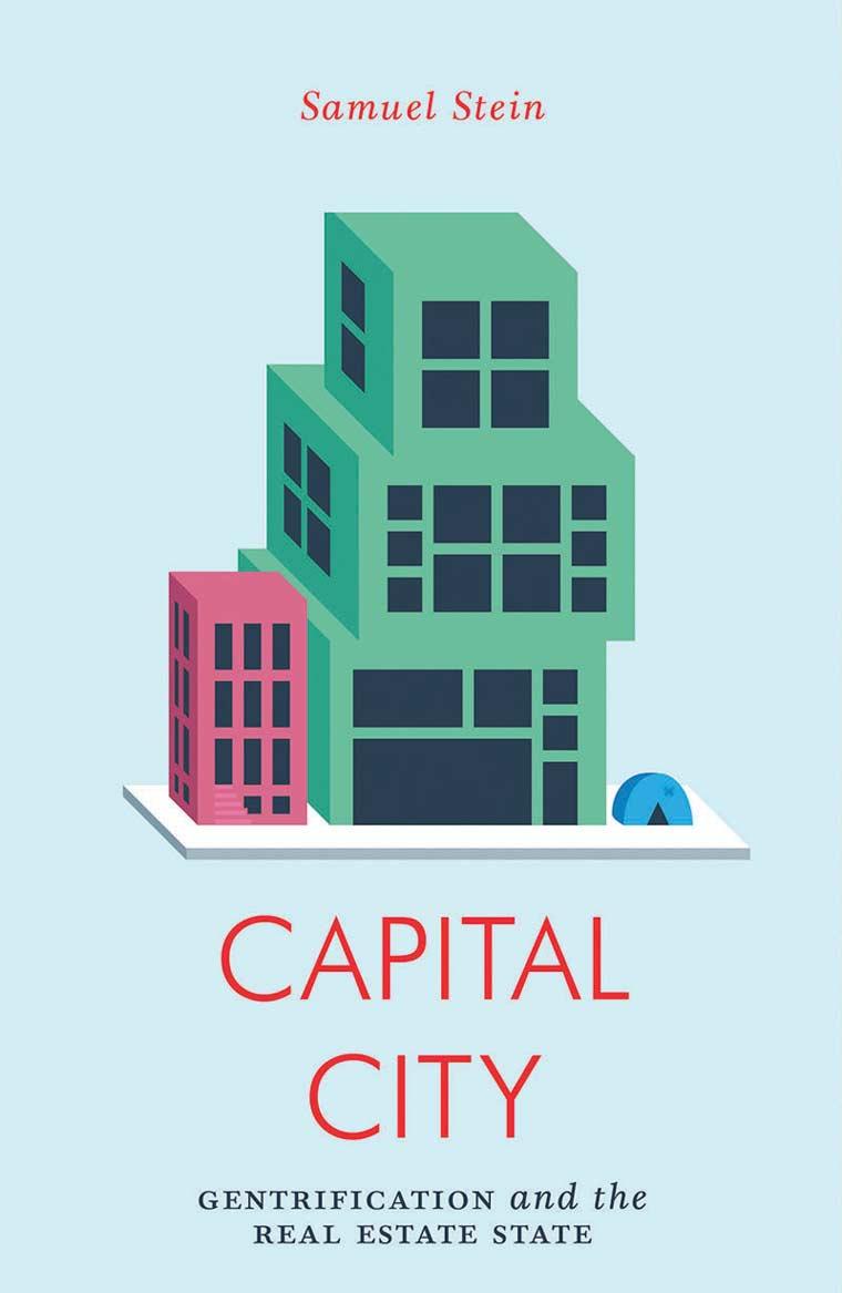 Book cover artwork for Capital City