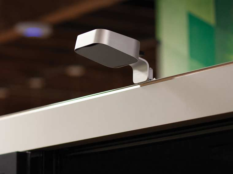 Close up image of room sensor