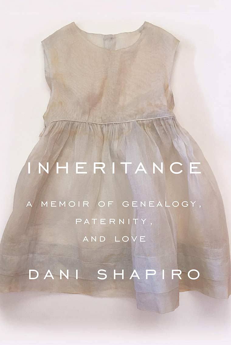 Book cover image for Inheritance by Dani Shapiro
