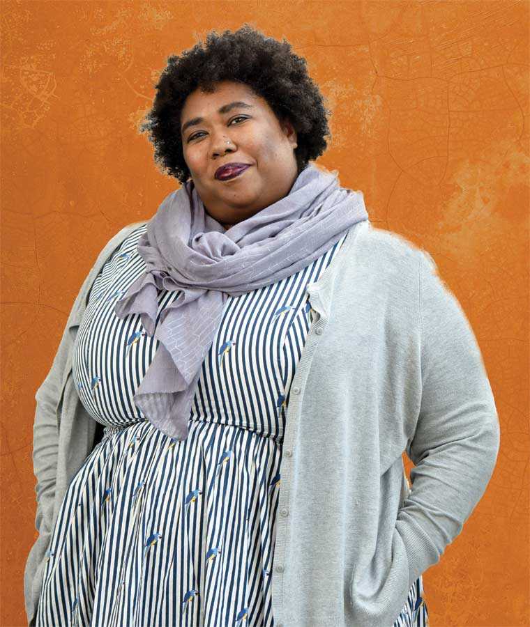 Khaliah Williams '02, a graduate of the Iowa Writers' Workshop, is a college counselor and English teacher at Berkeley Carroll School.
