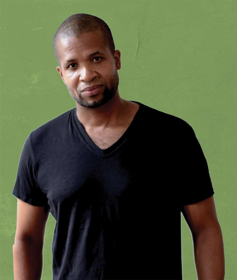 Damani Baker '96, who teaches filmmaking at SLC, is an award- winning writer, director, producer, and cinematographer.