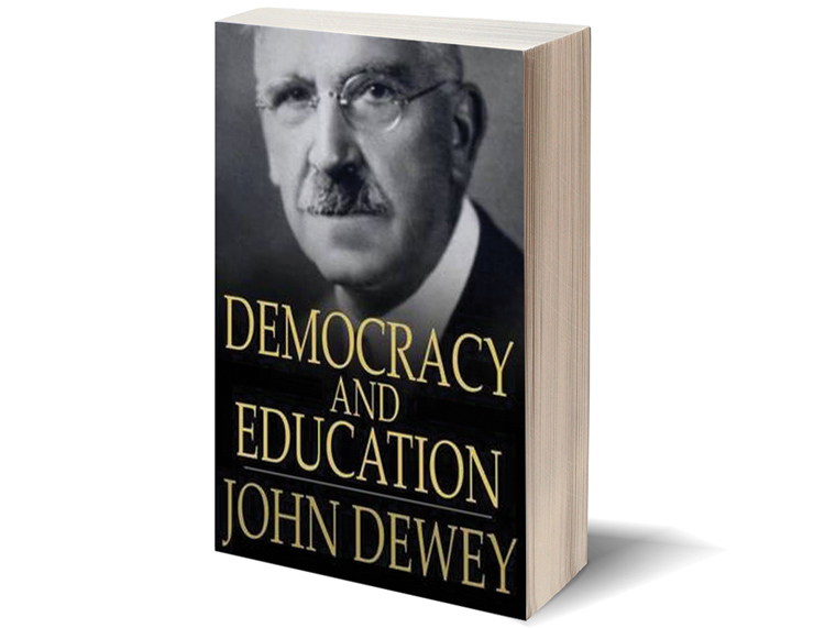 Democracy and Education book cover