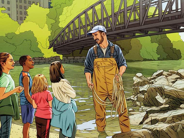 Illustration of Chris Girgenti
