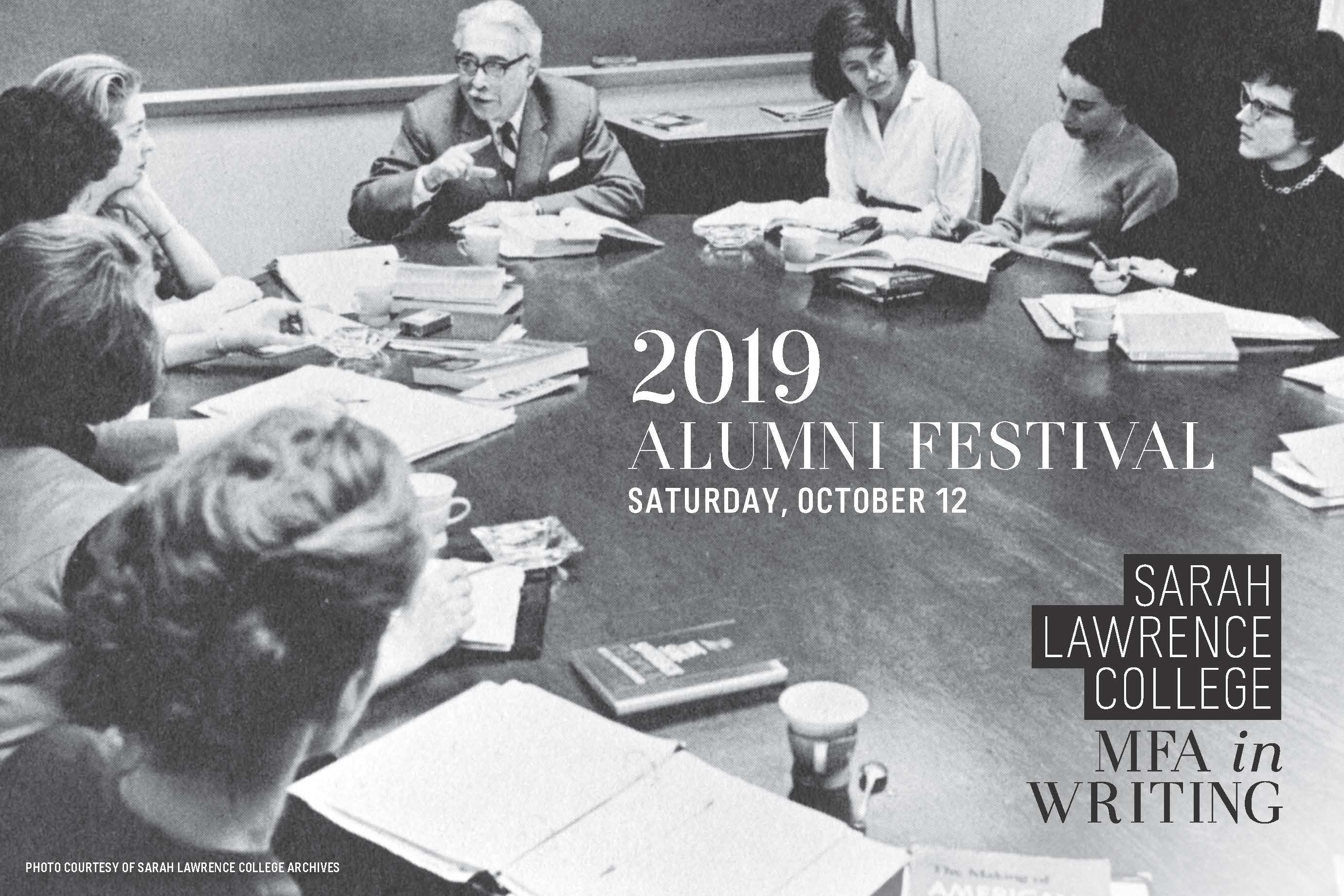 Sarah Lawrence College MFA Writing Alumni Festival