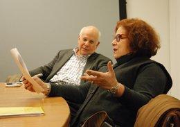 Stephanie Cooper and Howard Weinberg