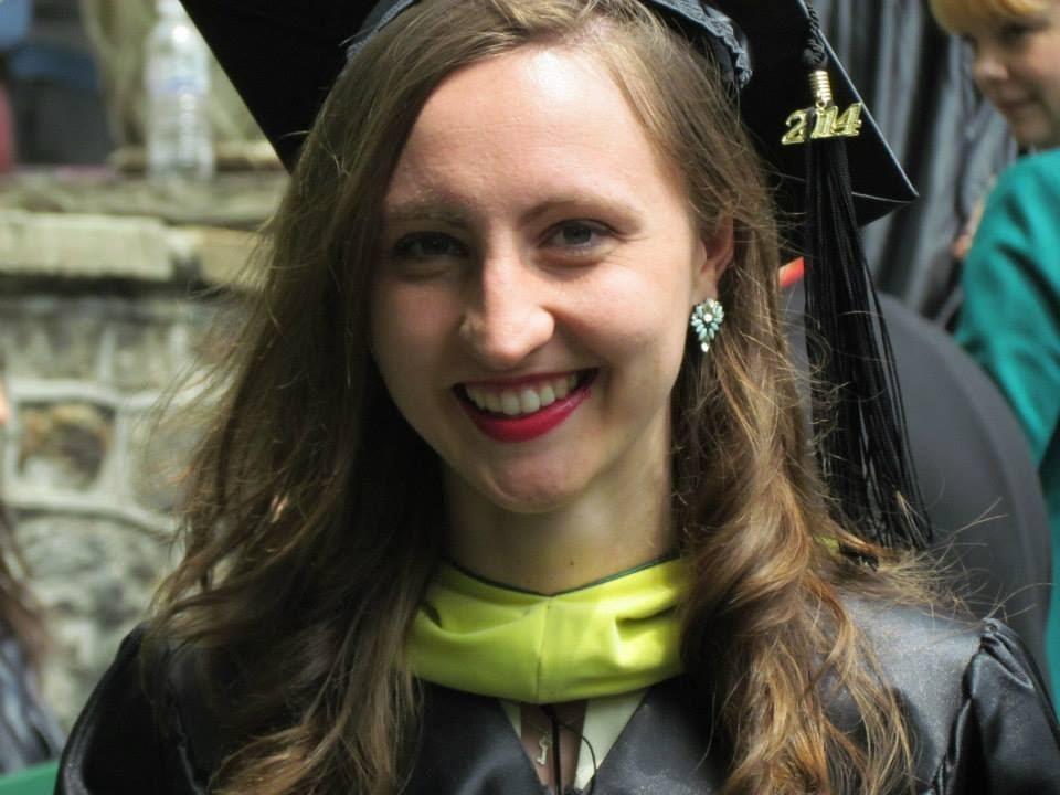 Caitlin Cooney MS '14, Alumna