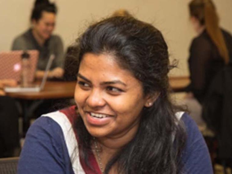 Monisha Sebastin MS '18