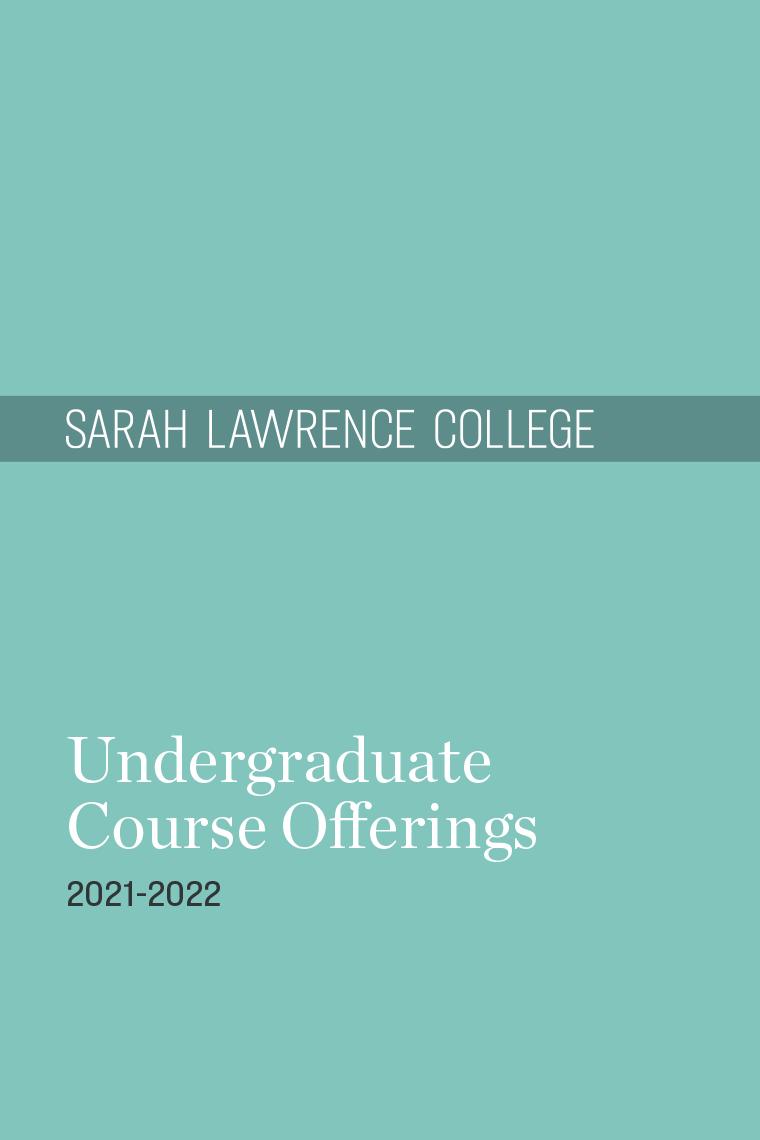 2021-2022 Catalogue Cover