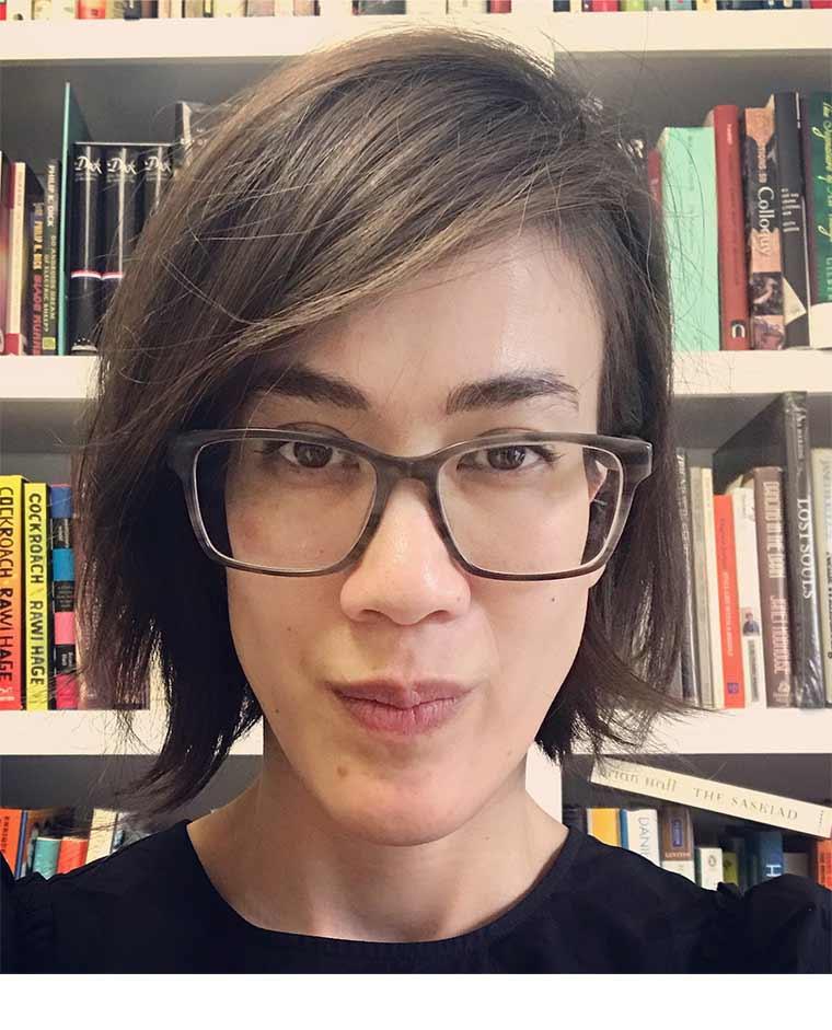 Headshot-style image of Rebecca Nagel