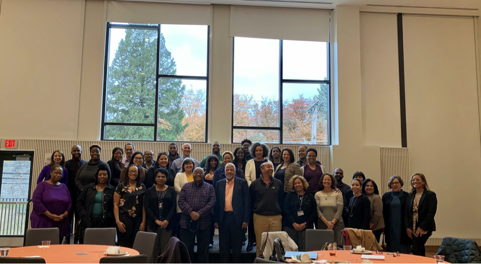 A few faculty and staff members who attended the Inaugural Faculty and Staff of Color Luncheon on November 19.