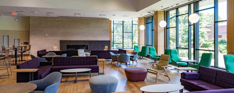 Barbara Walters Campus Center Living Room