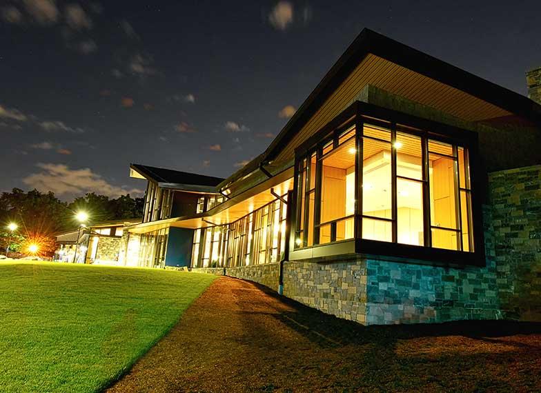 The Barbara Walters Campus Center