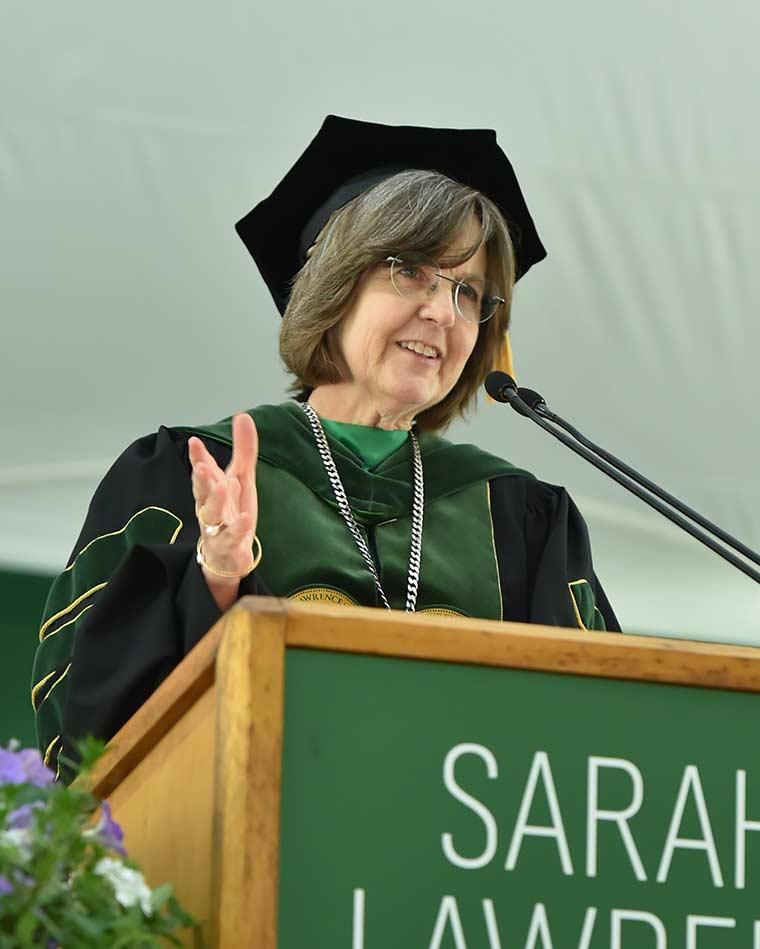 Portrait of President Cristle Collins Judd