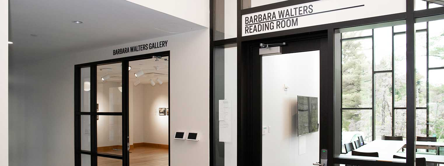 Exterior shot of the Barbara Walters Gallery