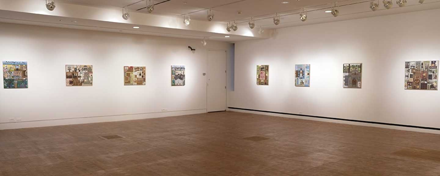 The Heimbold Gallery with works by Ann Toebbe on display