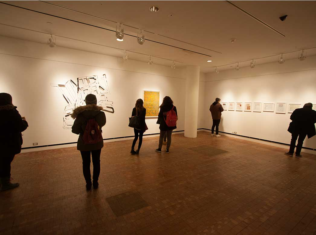 The Gallery at the Heimbold Visual Arts Center