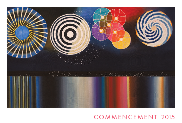 Sarah Lawrence College commencement program cover