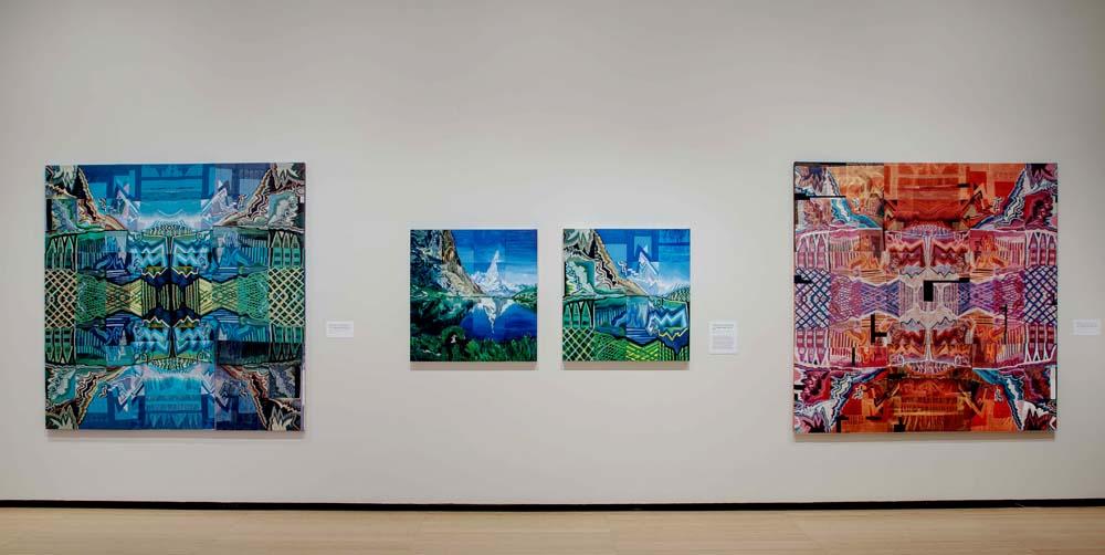 I and I (SW1); 2014-2017; Installation View; Asia Society Museum, NY