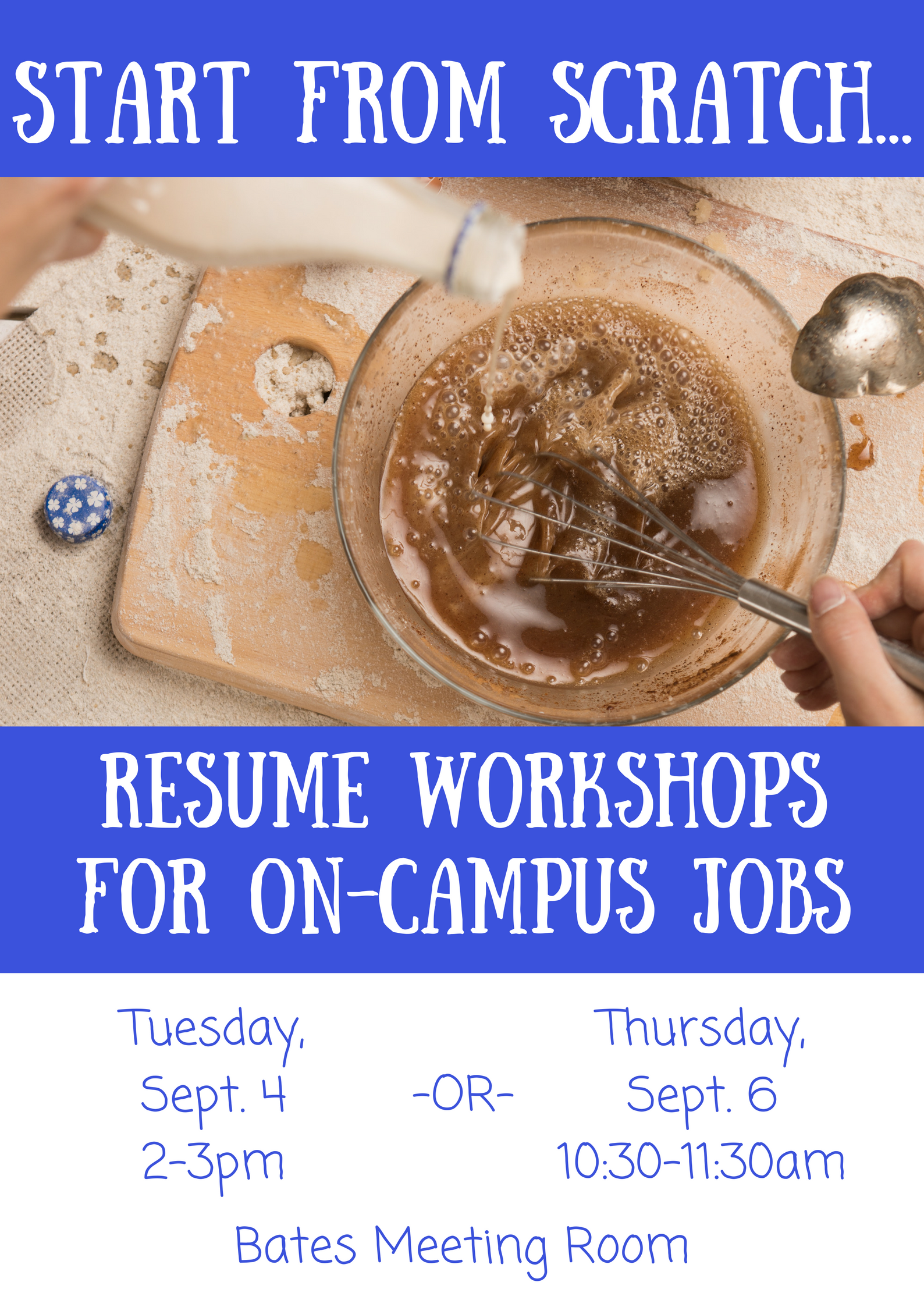 Career Services Resume Workshop For On Campus Jobs Sarah Lawrence