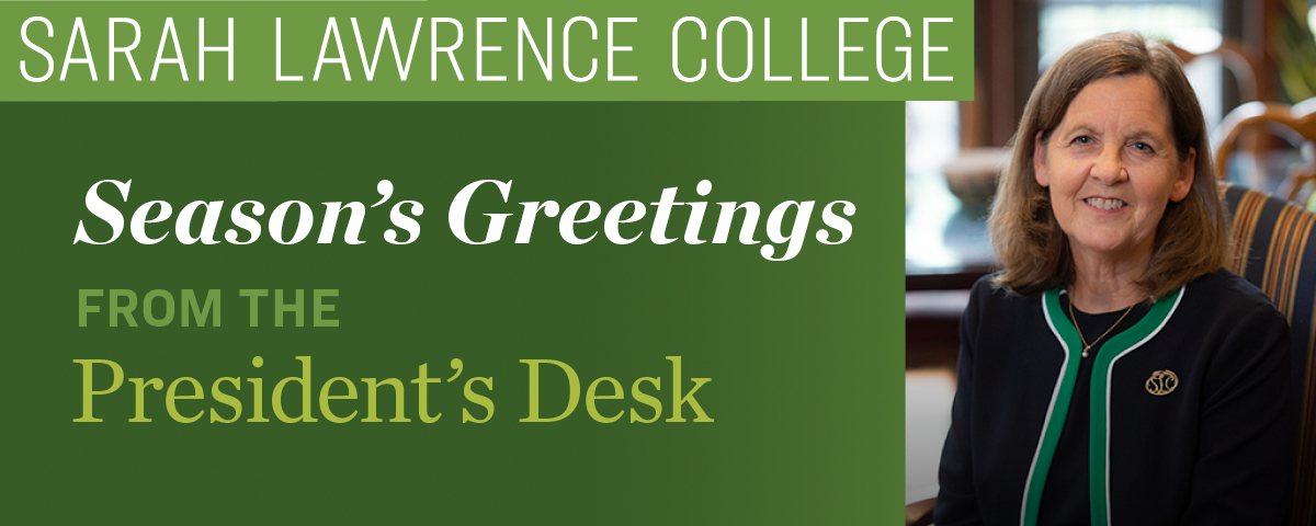 Season's Greetings from the President's Desk